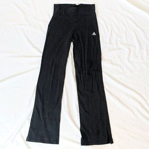 Adidas Leggins Pants w Side Slit Womens Size Small